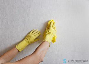 Как ухаживать за сантехническими перегородками?